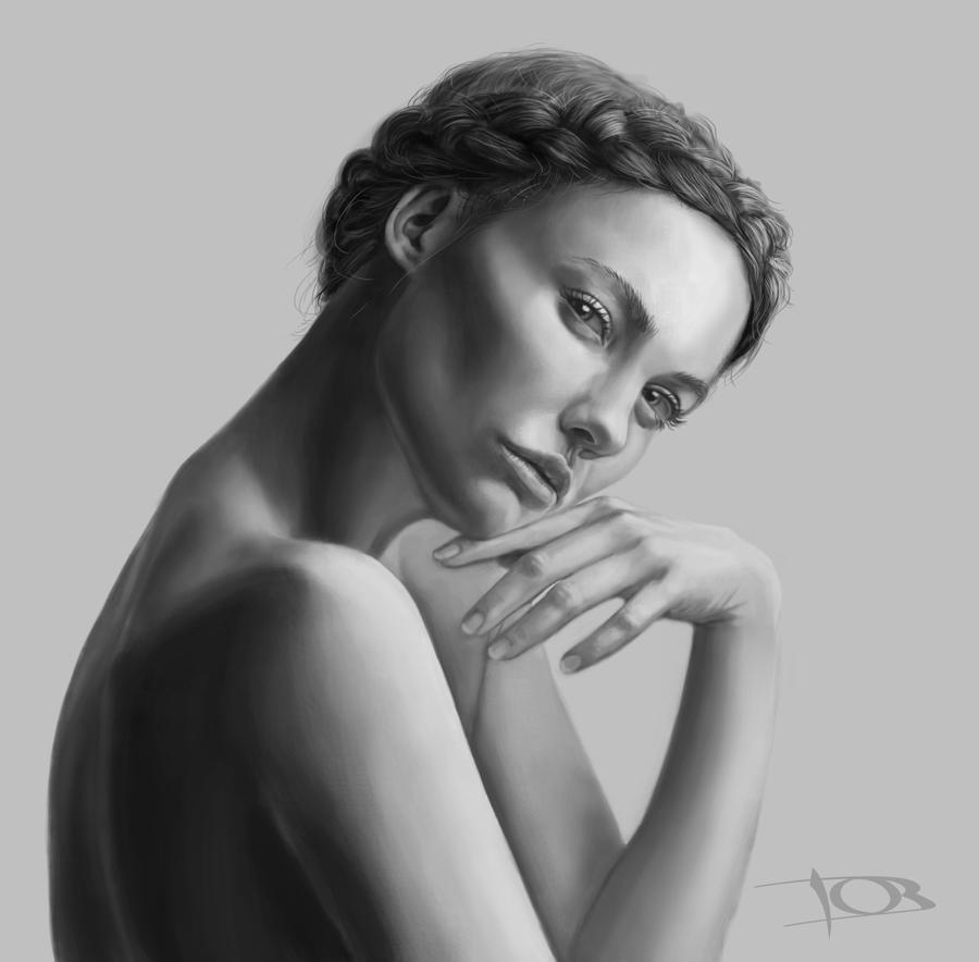 Anne Lysa study by tonyob