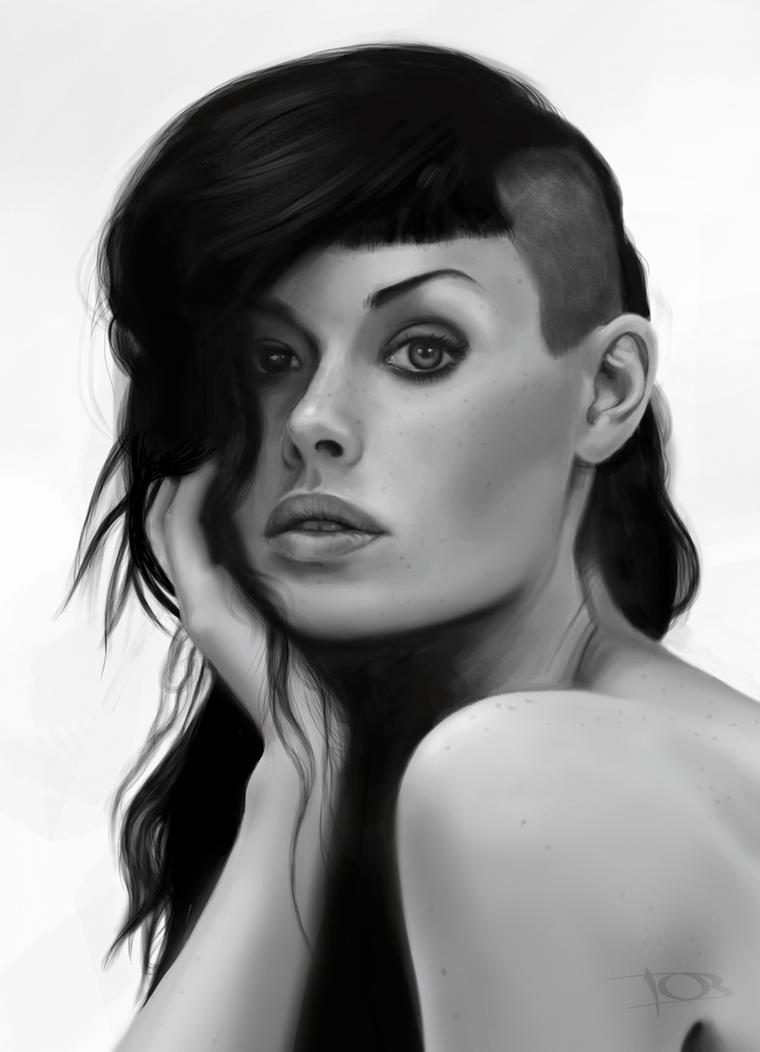 Alice Kelson sketch by tonyob