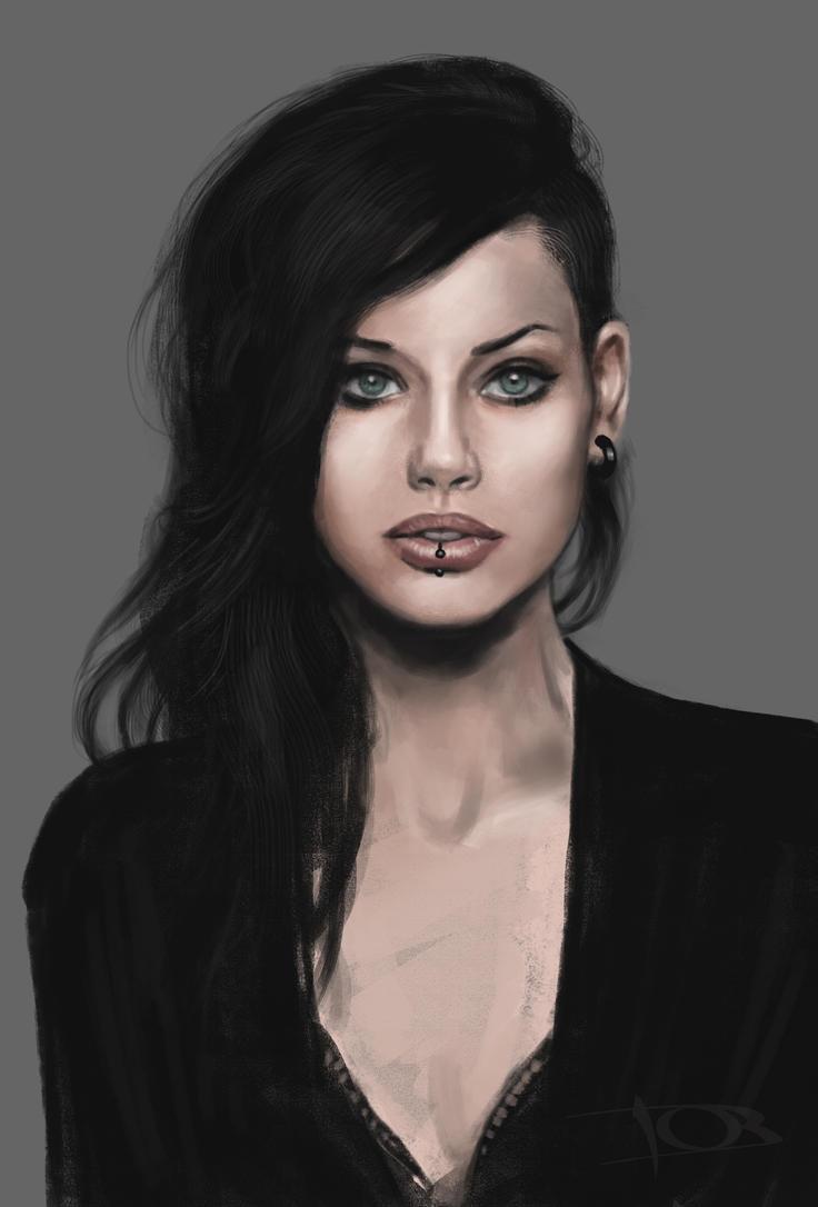 Alice Kelson sketch 2 by tonyob