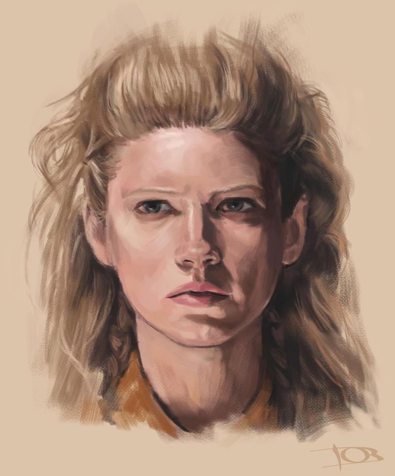 Katheryn Winnick sketch by tonyob