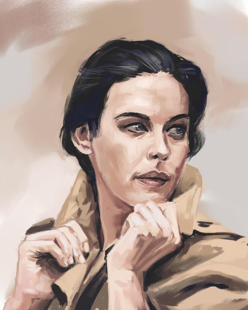 Liv Tyler sketch by tonyob