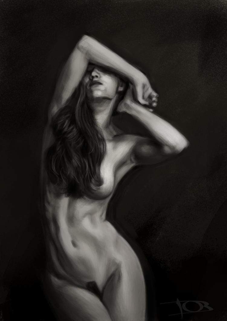 Melissa Ann sketch 4 by tonyob