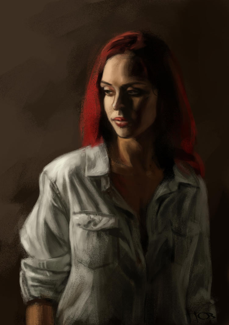 Jessica sketch by tonyob