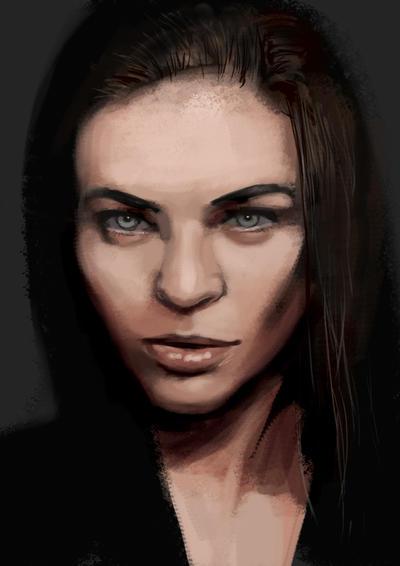 Model 2 sketch by tonyob