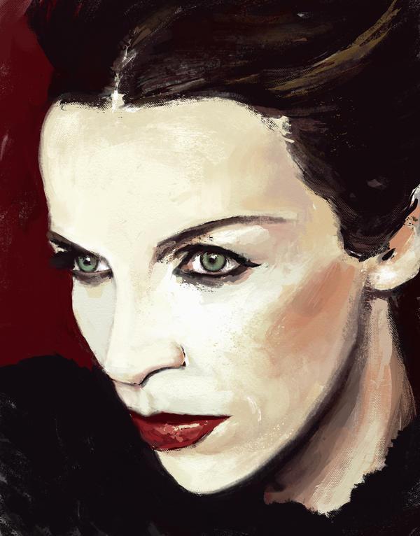 Annie Lennox sketch by tonyob
