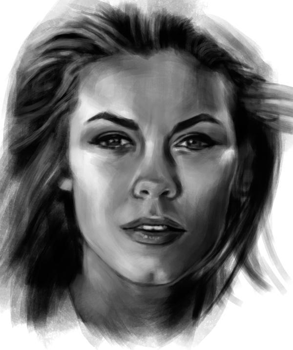 Elizabeth Montgomery sketch 2 by tonyob