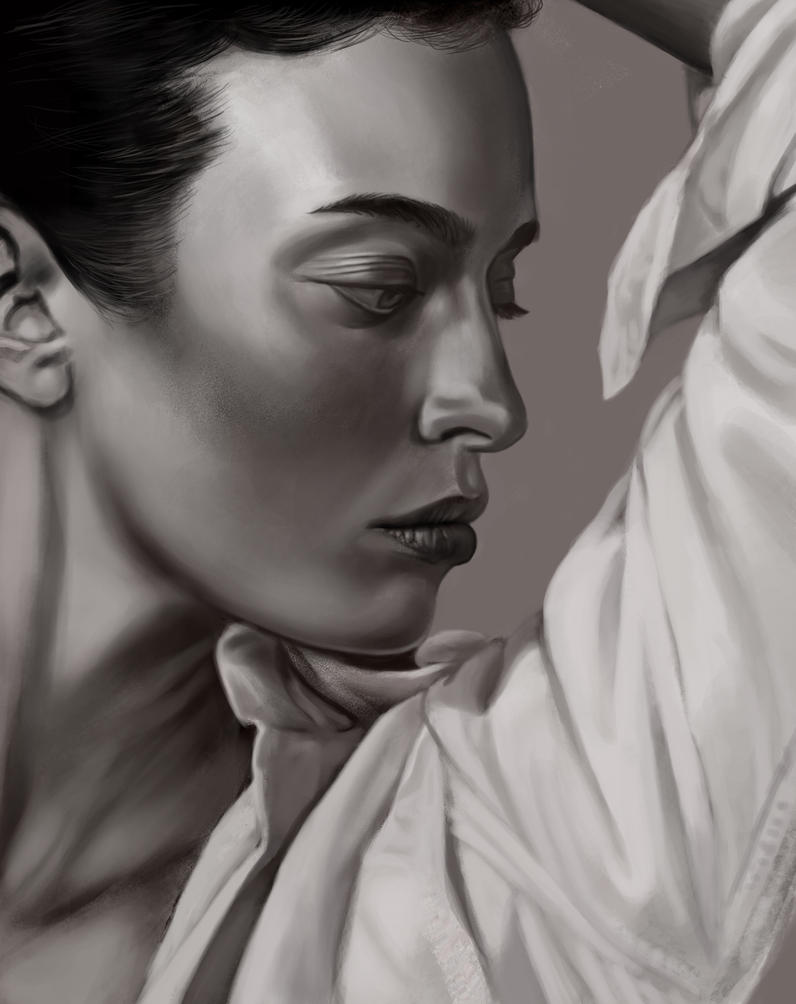 Model 21 sketch by tonyob