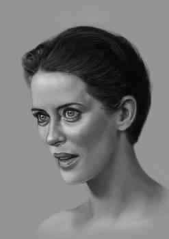 Claire Foy sketch