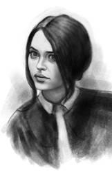 Emilia Clarke sketch 4