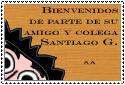 Stamp de bienvenida by elgrafitorebelde