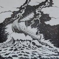 Inktober day 17, Storm