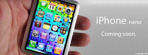 iPhone nano Facebook header ad