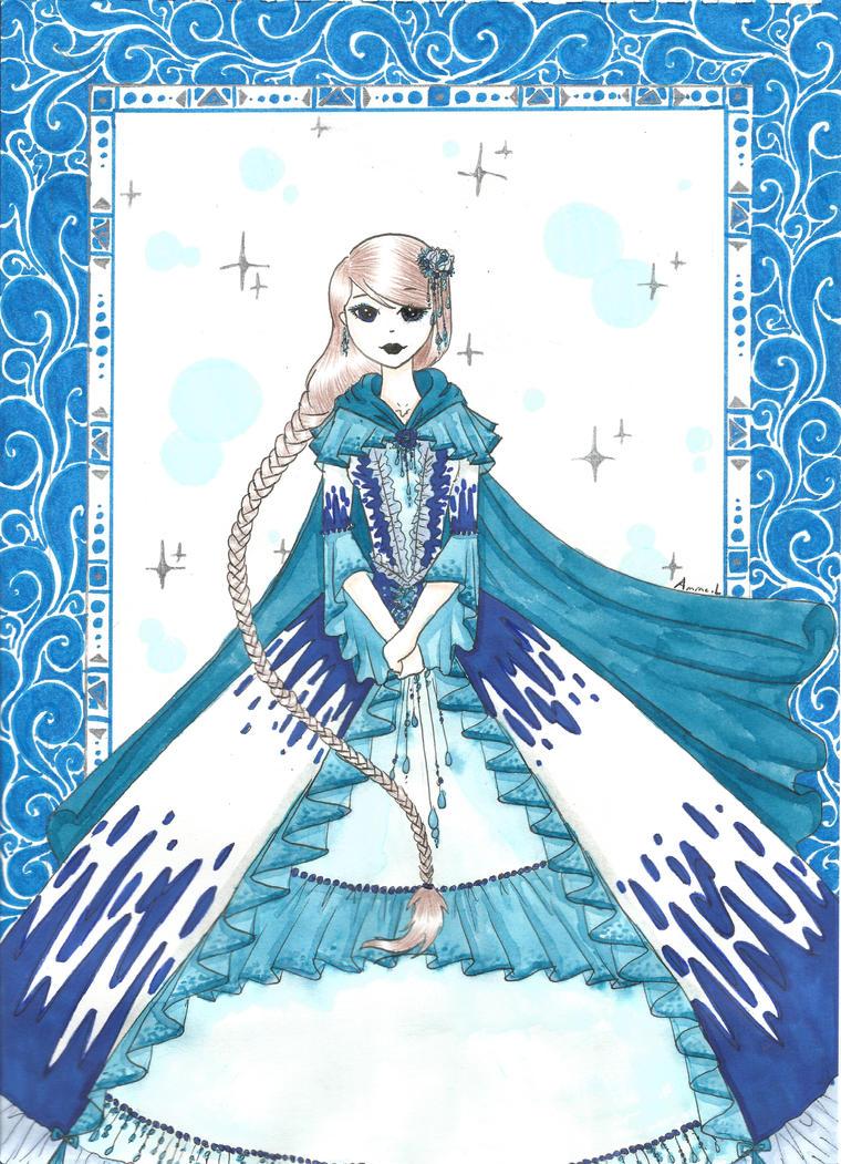 blue princess by ondine25