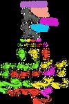 .:CLOSED SPECIES:.Candy Raptors
