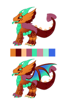 .:CLOSED:.Haribo Drachen Candy Raptor Auction by PlXlEDUST