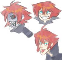 Seth doodles by PlXlEDUST