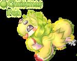 .:closed RAFFLE:. Christmas Pea Jolleraptor by PlXlEDUST