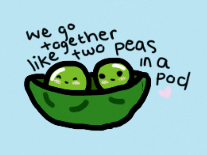 Two Peas In A Pod You Me Me You Pinterest