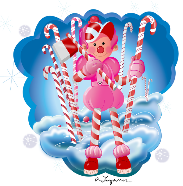 Picture Of Jolly From Candy Land Game Character