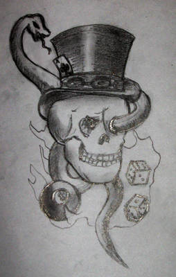 Tattoo Design B+W