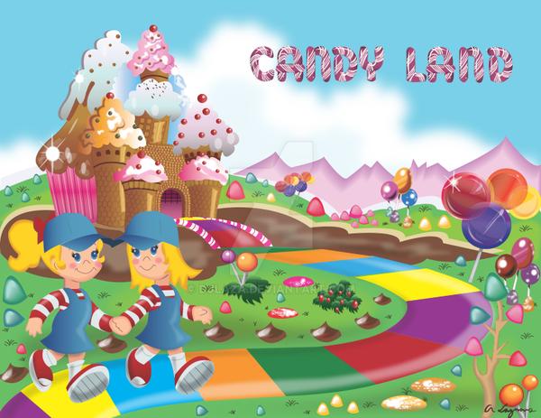 Candyland Path By Djlaza On Deviantart