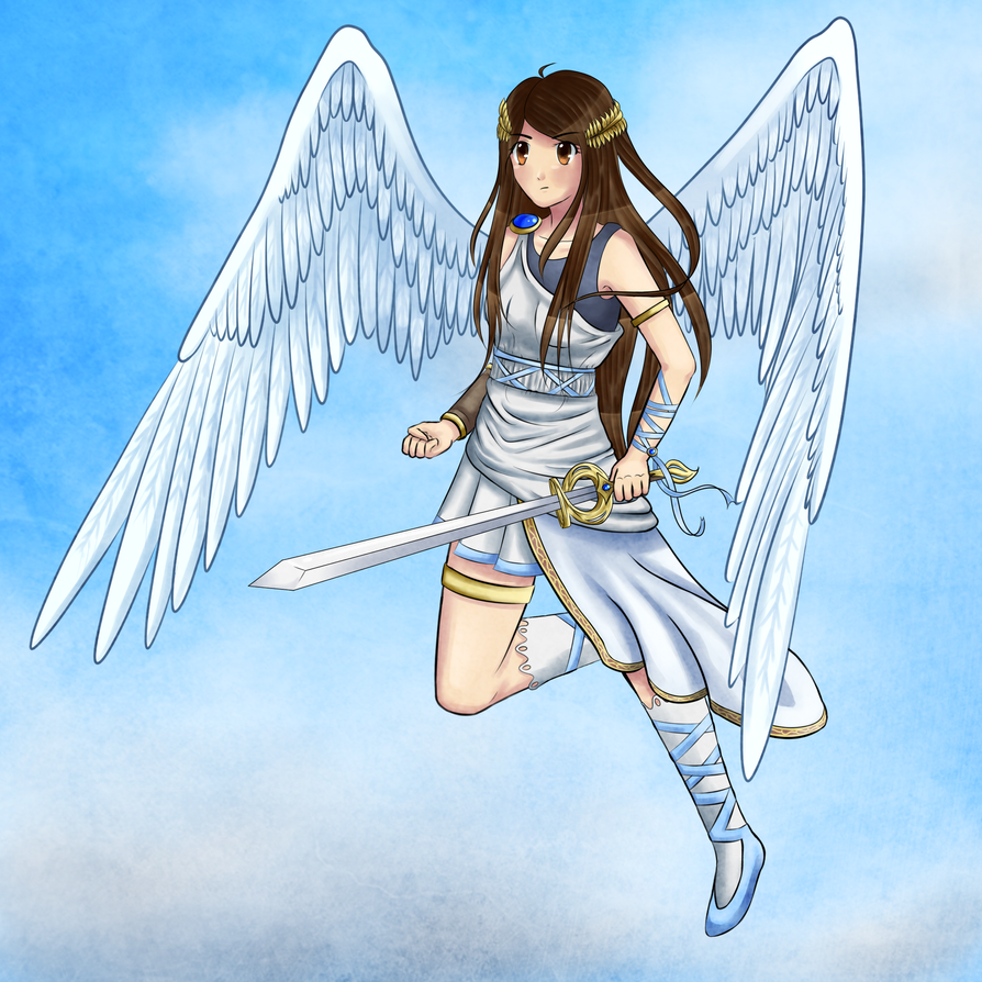 Magical Girl (Kid Icarus-inspired) by PkmnTrainerSabi