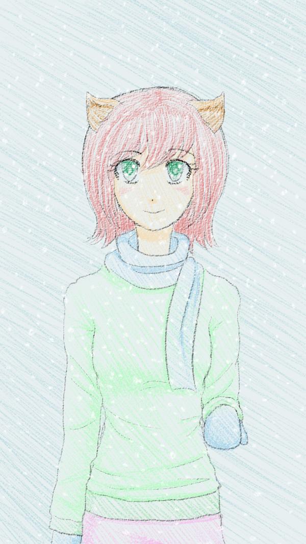 Art Trade: Snow by PkmnTrainerSabi