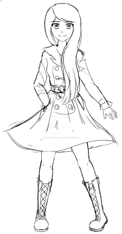 trench coat by PkmnTrainerSabi