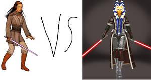 Jaina Solo vs Ashara Zavros