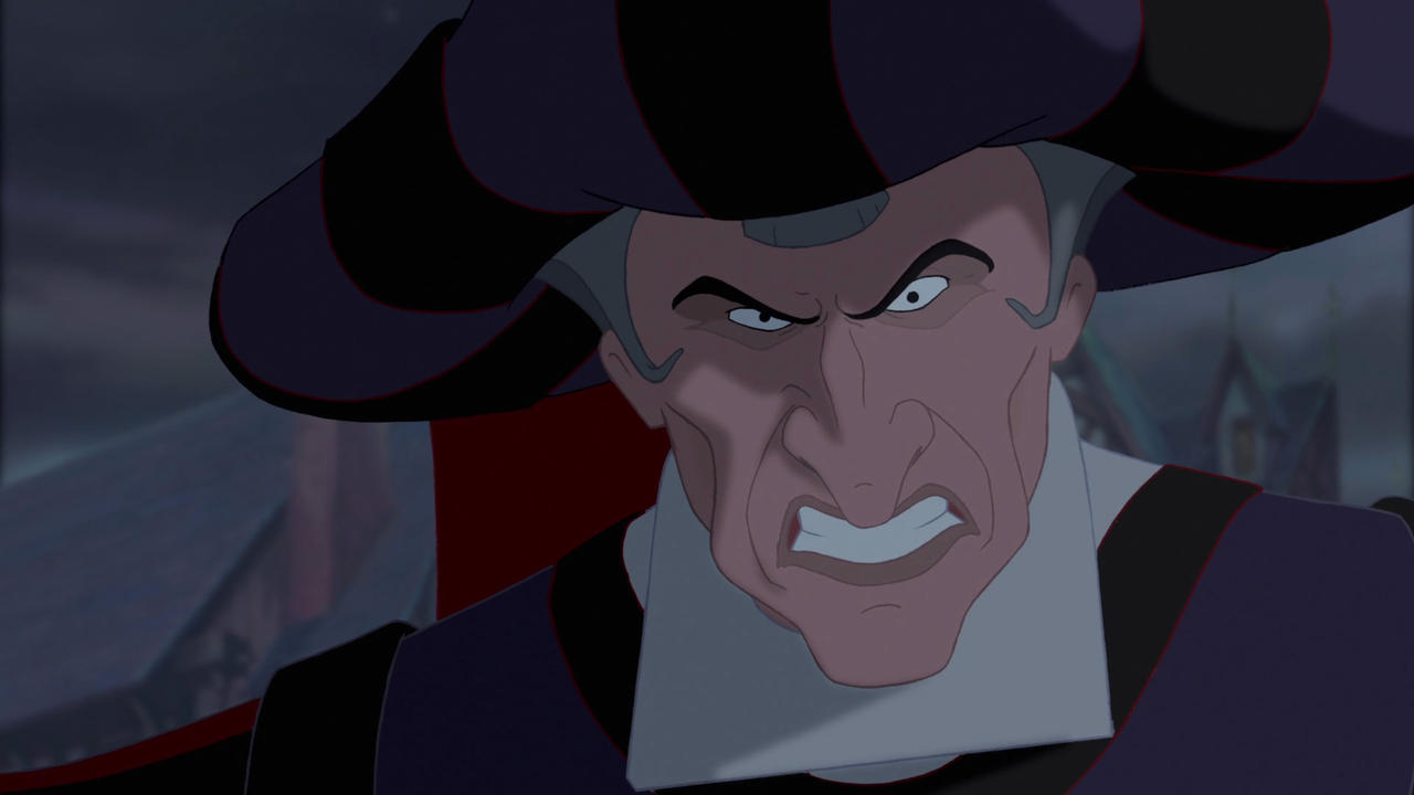 Claude Frollo from The Hunchback of Notre Dame