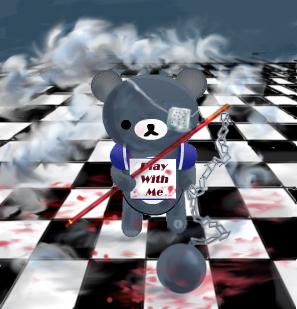 H-N Teddy for Xmas by Aozora-skies