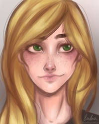 self-portrait by artbyemka