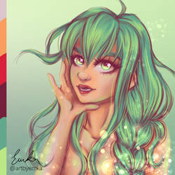 Drawing with color palette by artbyemka