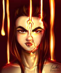 Lava Queen by artbyemka