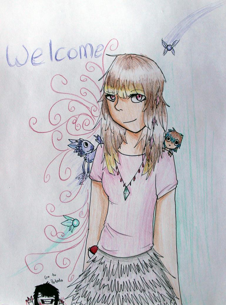 Com For Animedragon10 by Kikitwou