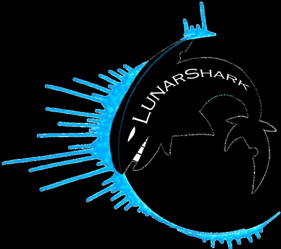 LunarShark Logo by Kikitwou