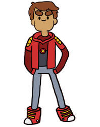 Danny Bravest Warriors by Creationmist