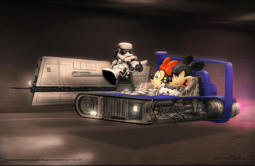 Mickey / Solo mash up re-do... by darrinbrege
