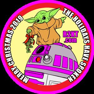 Baby Yoda R2-KT Patch Design