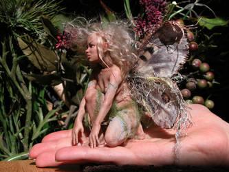 faery on my hand