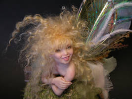 sculpt faerie Joy by polymer-people