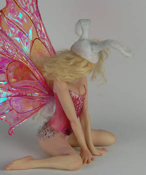 fairy Bunny Rabbit back