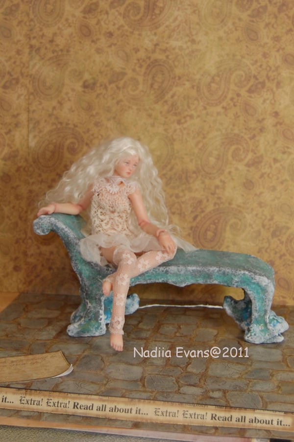 8 inch Ball Jointed Doll BJD 3 by polymer-people