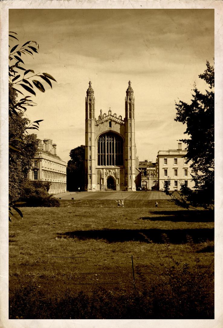 Cambridge postcard by rorshach13