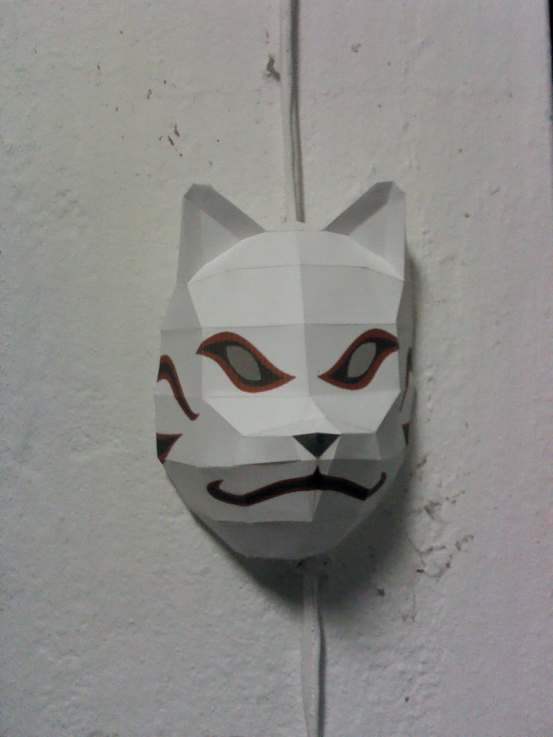 Kakashi Anbu Mask by MCanha on DeviantArt
