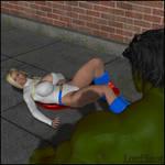 Hulk Smash Powerful Girl