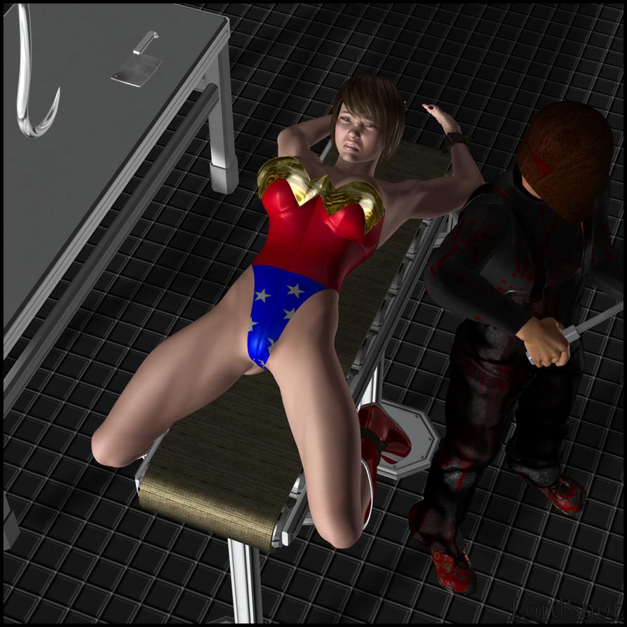 Wonder Woman pornostjerne gul sperm
