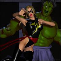 Smashing Hulk by LordSnot