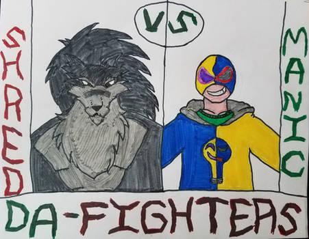 DeviantArt Fighters: Shred V.S Manic Bulbs