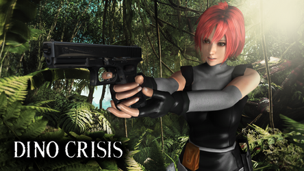 Regina - Dino Crisis by theperfectweapon91